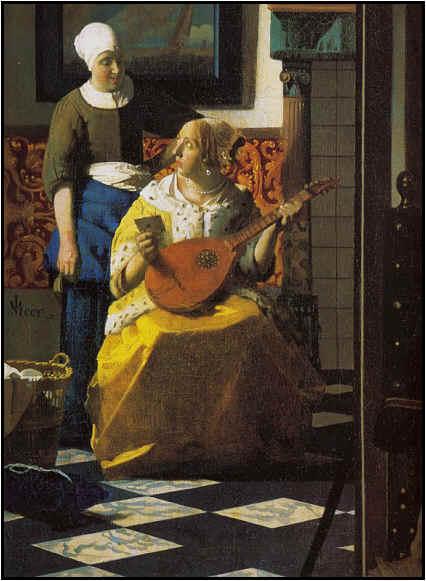 The Love Letter (Vermeer)