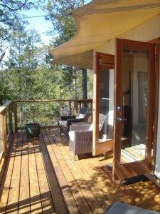 our tent - Rockwater Secret Cove Resort